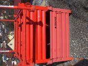 Kleinteilbox und Stapelgestell von Meva