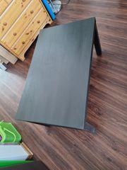 Ikea Lack Tisch schwarzbraun