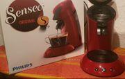 Senseo Kaffeemaschine rot