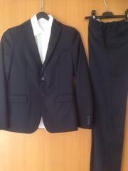 Festlicher Anzug Größe 152 dunkelblau