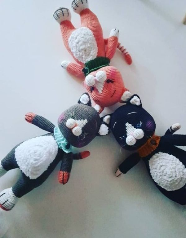 amigurumi Katze