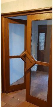 Windfang Holztüren Glastüren Schwingtüren