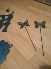 Schmetterlinge aus Stahl