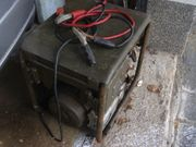 Stromaggregat mit Anschluß Top