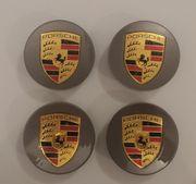 4x Porsche Felgendeckel Nabendeckel Nabenkappen