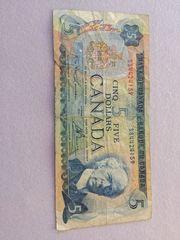 5 Dollar aus Kanada zu