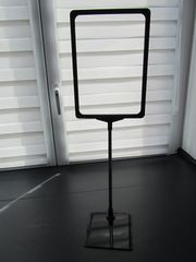 5x Preisschild Teleskop Preisschildständer Preisaufsteller