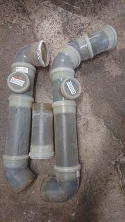 Verschenke Abgasleitung Unter- oder Überdruck