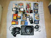 Sega mega drive mit Spiele