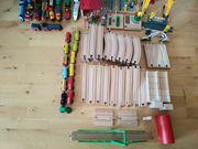 Holzeisenbahn und Zubehör Fabrikat Brio