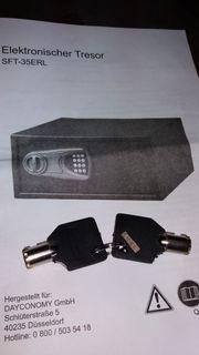 Möbeltresor elektronisch Neu 43x35x20 cm