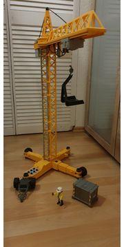 Playmobil Baukran Elektrisch