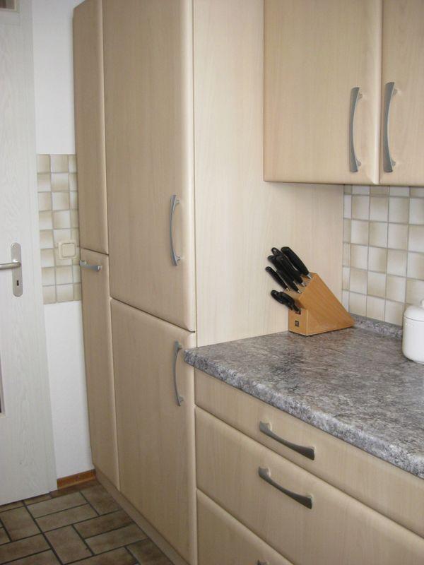 2-zeilige Nolte Küche mit AEG Geräten