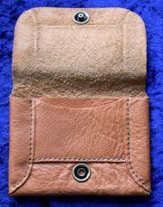 Tabakbeutel Echtes Leder Handmade Einzelstück