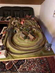 Märklin Modeleisenbahn mit viel Zubehör