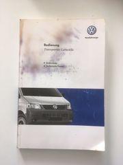 VW Bus Bedienungsanleitung Caravelle Transporter