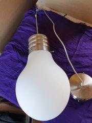 Deckenleuchte Lampe Riesen-Glühbirne