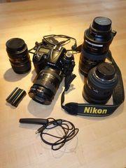 Nikon D7000 mit Objektiven