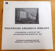LP Wolfgang Amadeus Mozart Symphonie