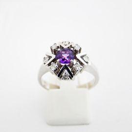 Ring Gold 585er Amethyst Diamanten: Kleinanzeigen aus Neumarkt - Rubrik Schmuck, Brillen, Edelmetalle