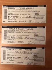 3 Formula 1 - Tickets in