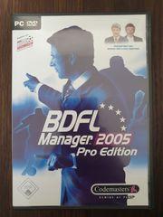 PC Spiel Fußball - BDFL Manager