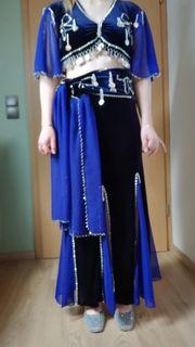Orientalisches Kostüm Royalblau