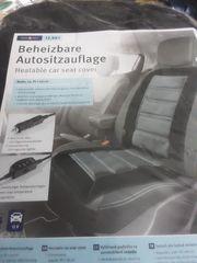Beheizbare Autositzauflage neu