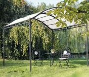 Garten Pavillon Curve Pergola beige