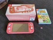 Nintendo Switch Lite Korall