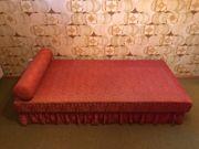 Chaiselongue Sofa Retro Couch 60er