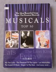 3 CD-Box Musicals Top 50