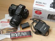 Canon EOS 70D Digitalkamera mit