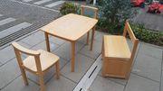 Herlag Kindersitzgruppe Sitztruhe 2x Stuhl