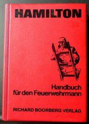 Sammlerstück Handbuch für den Feuerwehrmann