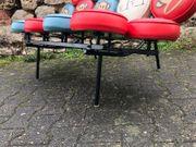 Design Marshmallow Sofa mit Affen
