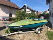 Angelboot GFK MOTOR TRAILER