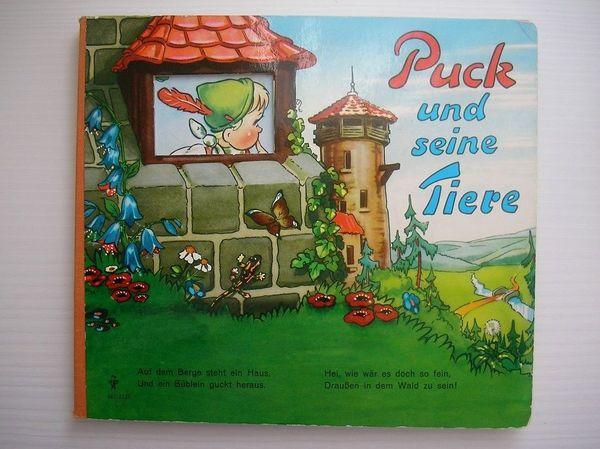 Altes Kinderbuch Puck und seine