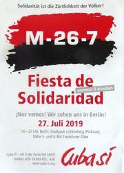Fiesta de Solidaridad in Berlin