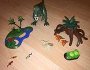 Playmobil Dinos Tyrannosaurus mit Velociraptoren