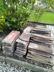 Alte Dachschindeln - zu verschenken