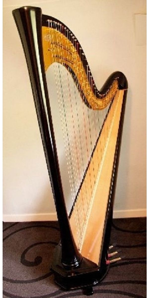 Aoyama Etude 46 String Pedal Harp