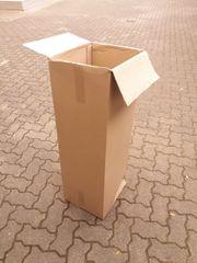 Mittel großer hoher leichter Karton