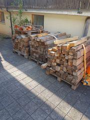 Holzbalken für Feuerholz