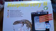 Incubator für Reptilien