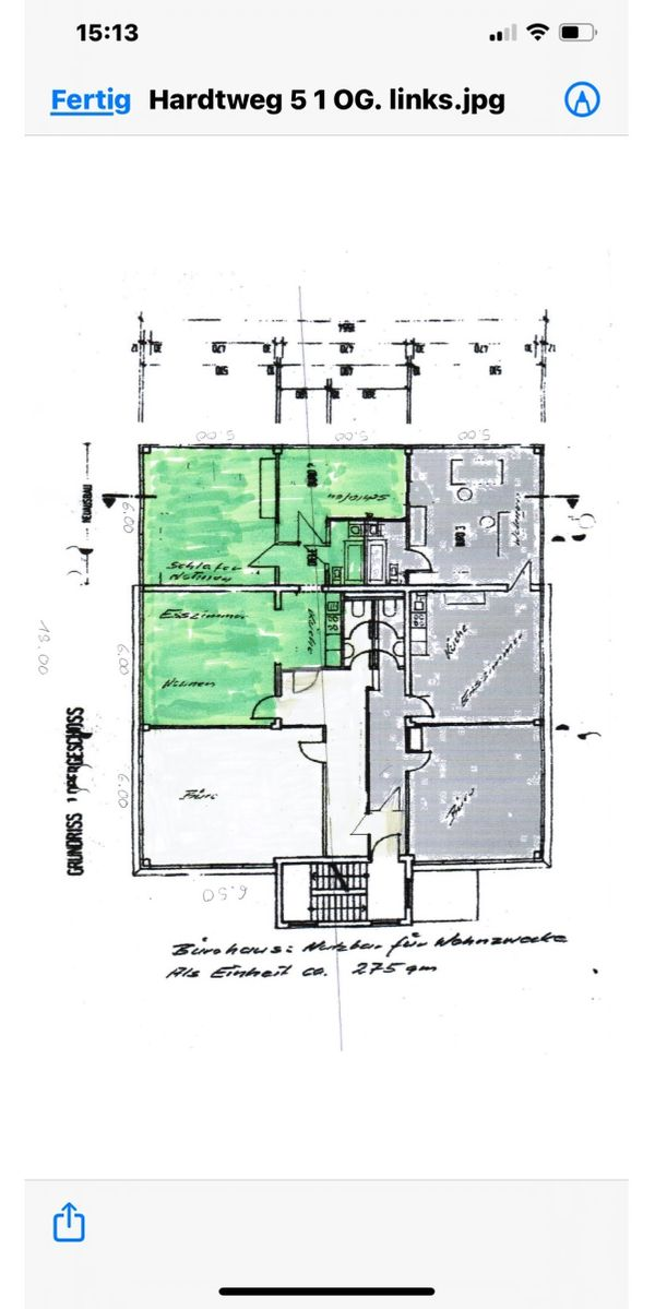 Remseck Büro-Wohnen 4 Zimmer 145qm