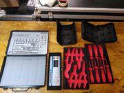 verschiedene Werkzeugtaschen Cases