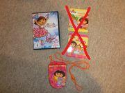 SET DORA DVD Minibücher Nickelodeon