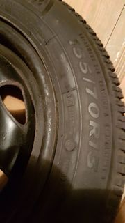 M S Reifen mit Stahlfelgen