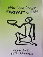 Häusliche Pflege Privat GmbH sucht